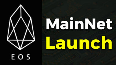 EOS mainnet launch