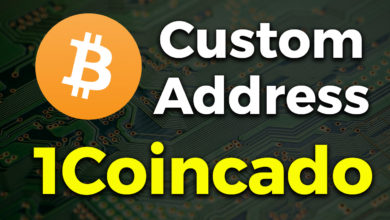 custom bitcoin address