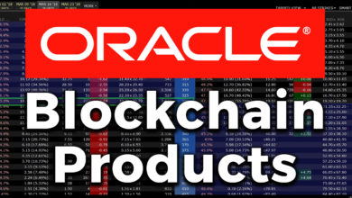 Photo of ORACLE is releasing Blockchain Products!