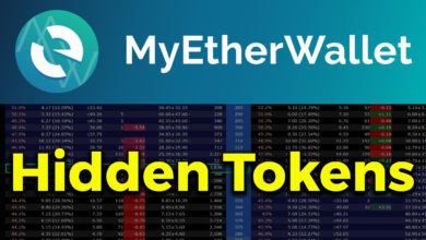 myetherwallet hidden tokens tutorial