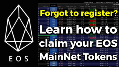 Photo of Forgot to register your EOS? You can still claim your EOS MainNet Tokens!